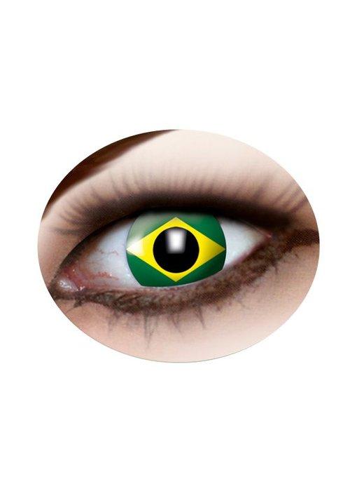 Party lenzen (Braziliaans vlag)