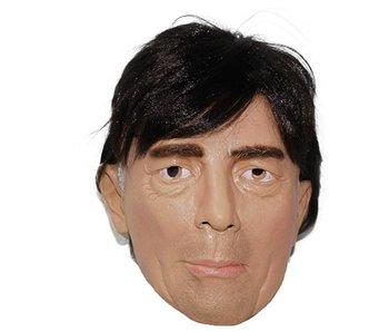 Joachim Löw mask | man masker (zwart haar)