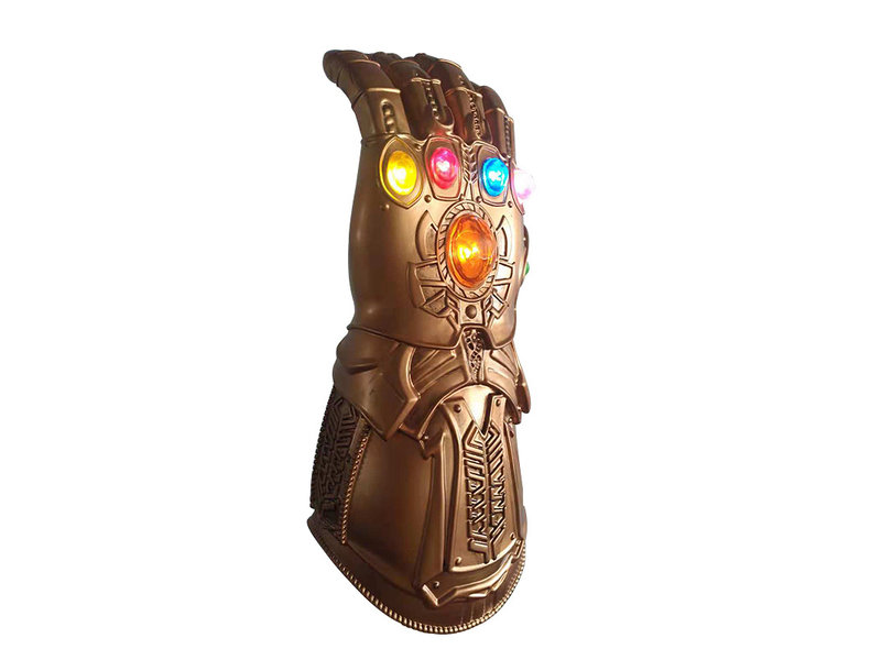 Thanos Gauntlet  with lightning infinity stones
