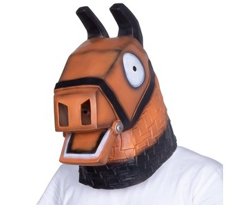 Loot Llama mask (Fortnite) brown