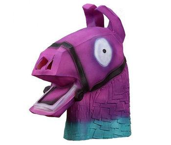 Loot Llama mask (Fortnite) purple