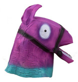 Loot Llama mask (Fortnite) purple