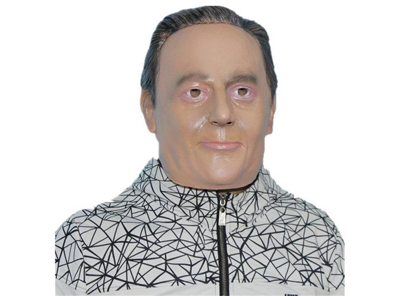 Man mask (grey hair)