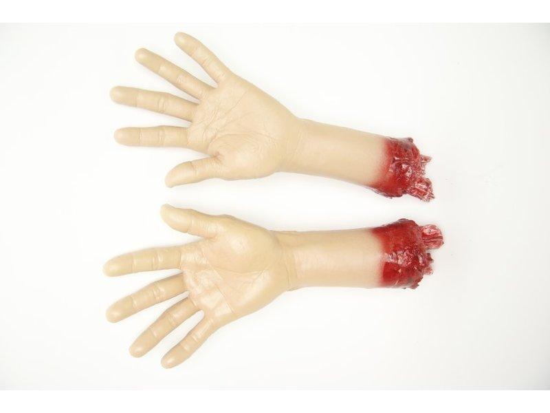 Nephanden / afgehakte handen, paar (props) Filmkwaliteit