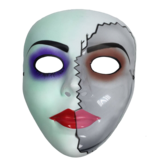 The Purge mask (Half Face)