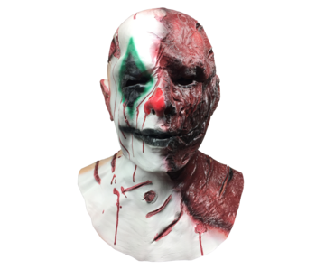Horror Clown masker 'Burny'