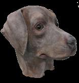 Dog mask 'brown labrador'
