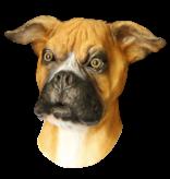 Latex hondenmasker 'Boxer'
