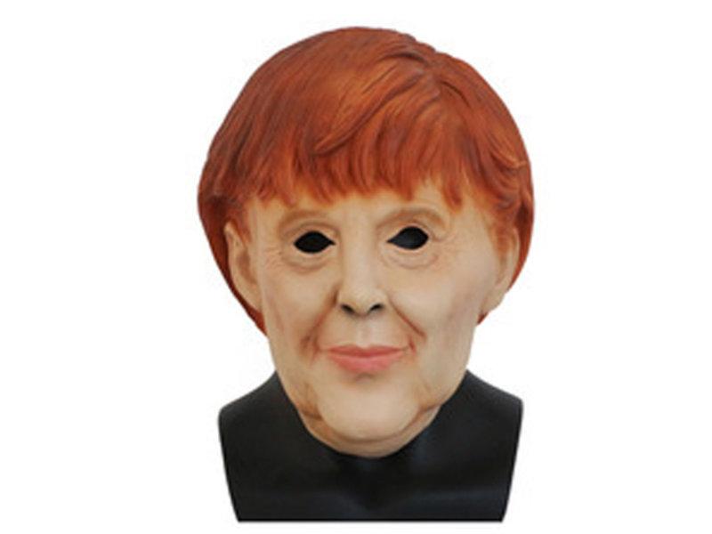 Angela Merkel masker / vrouw masker