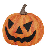 Decoratie Halloween pompoen (18 cm)