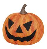 Halloween pompoen (Decoratie, 18 cm)