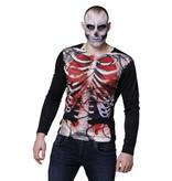 Photorealistic shirt Creepy carcass (size: M/L)