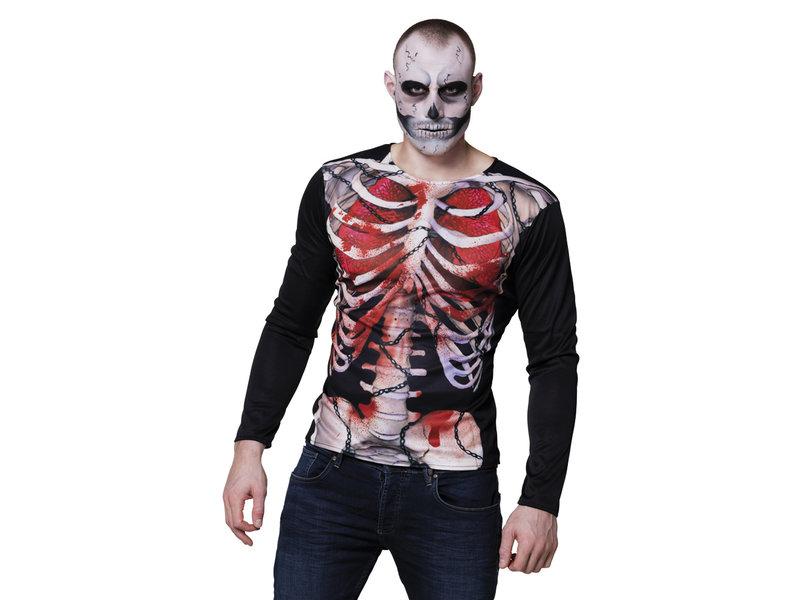 Fotorealistisch shirt Creepy carcass M/L