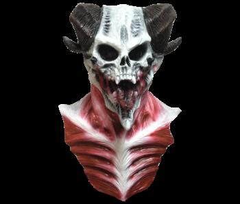 Maschera horror 'Demone Ariete'