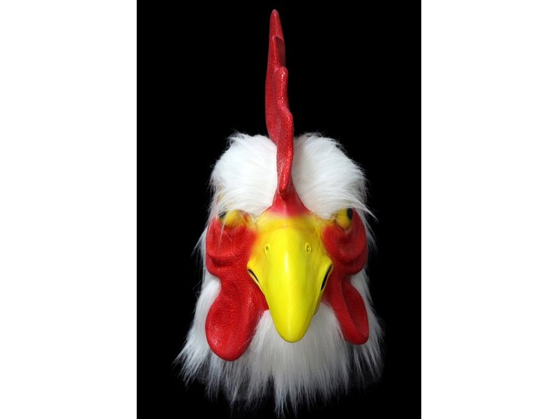 Rooster mask Deluxe