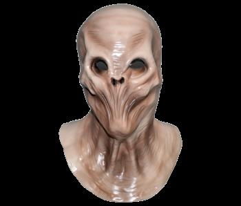 Alien mask 'Evil invader'