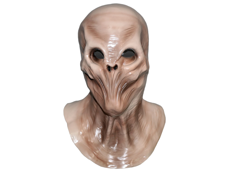 Alien mask 'Evil invader'