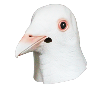 Pigeon mask white