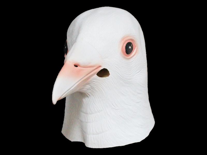Duivenmasker Wit