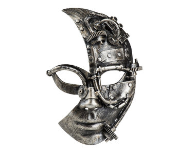 Steampunk mask Half face (man/female)