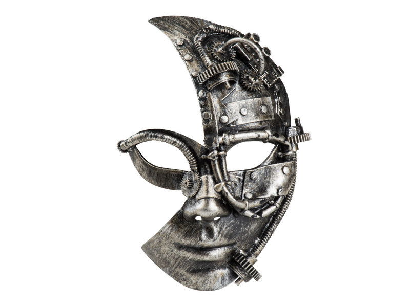 Steampunk mask Half face (man/female)