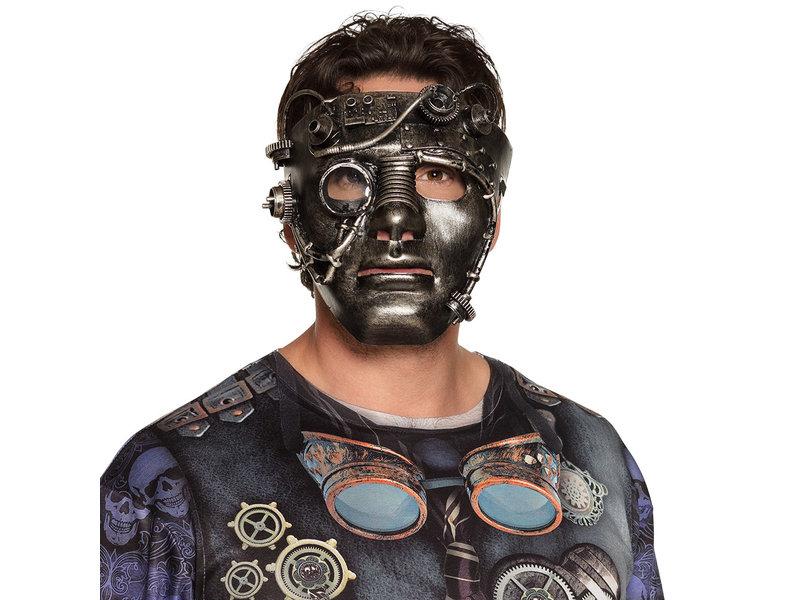 Steampunk masker Full Face  (man/vrouw)