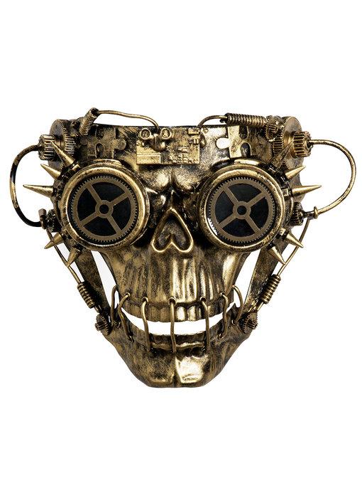 Steampunk masker 'Skull Face'