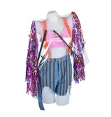 Harley Quinn outfit (shorts, top, glitter jacket)   Birds of Prey (2020)