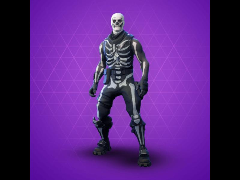 Fortnite Skull Trooper mask