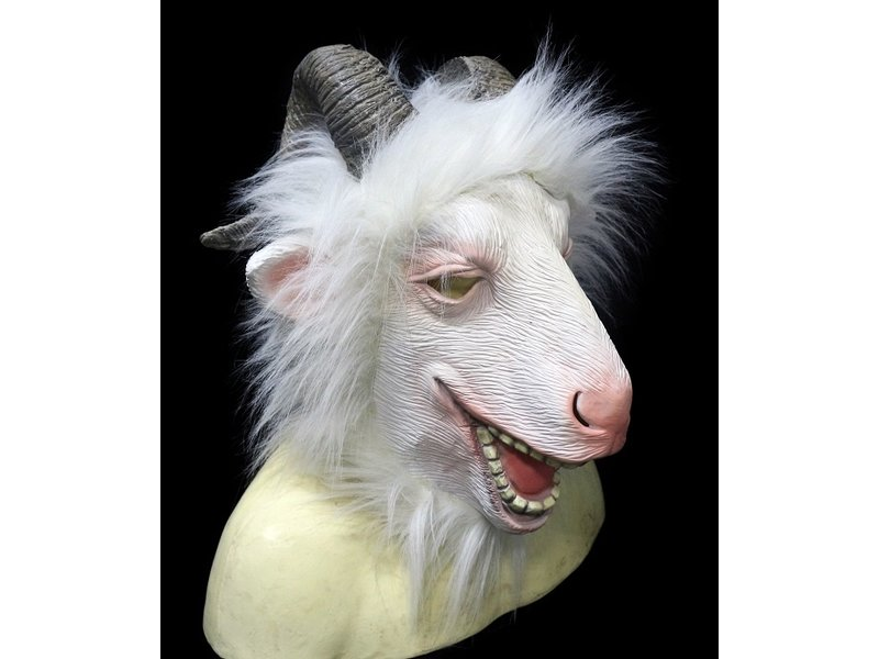 Goat mask Deluxe