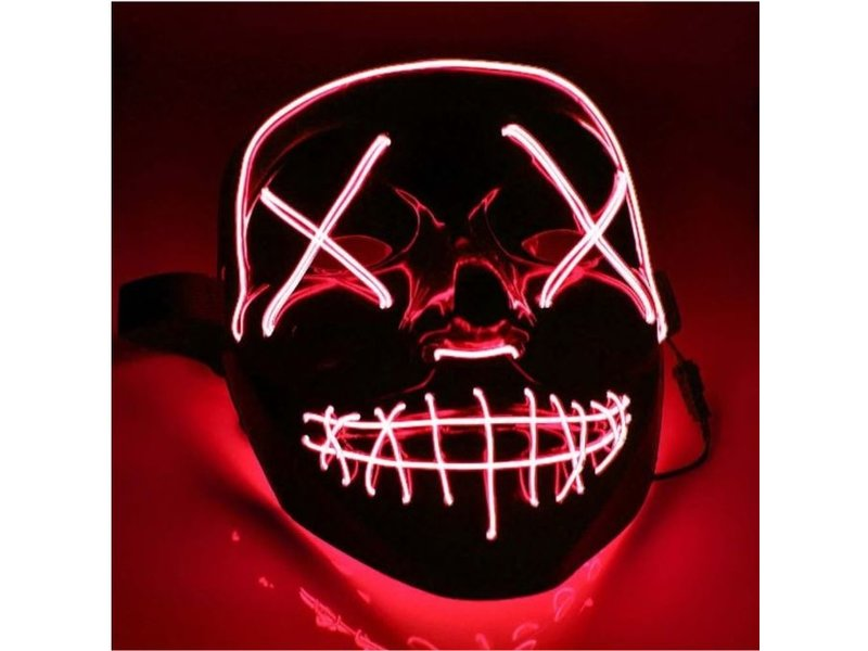 Purge LED mask red