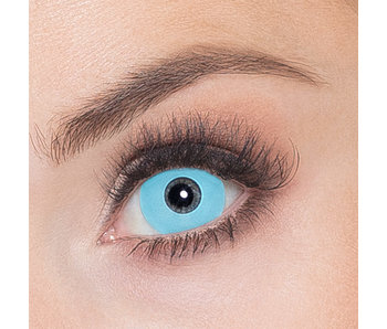 Week contact lenses Werewolf (light blue)