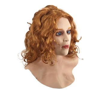 Vrouwenmasker (rood haar)