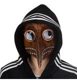Snavel masker (Pestdokter) koperbruin-grijs