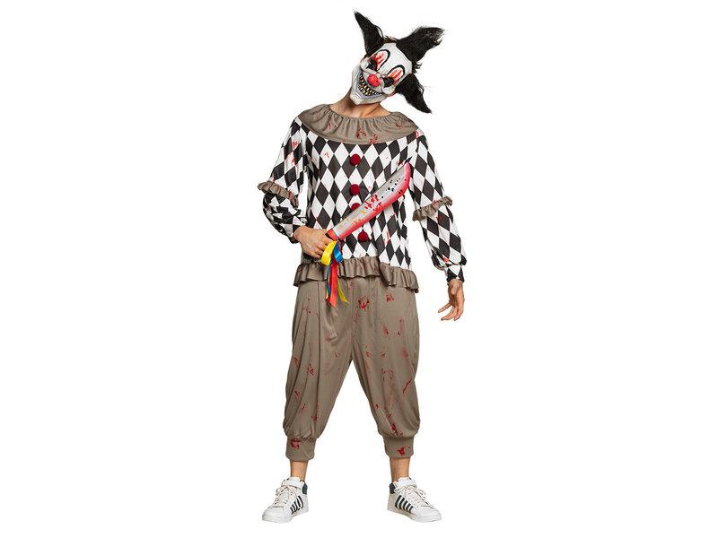 Machete Horror clown (53 cm)