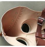Snavel masker (Pest dokter) zwart-koperbruin