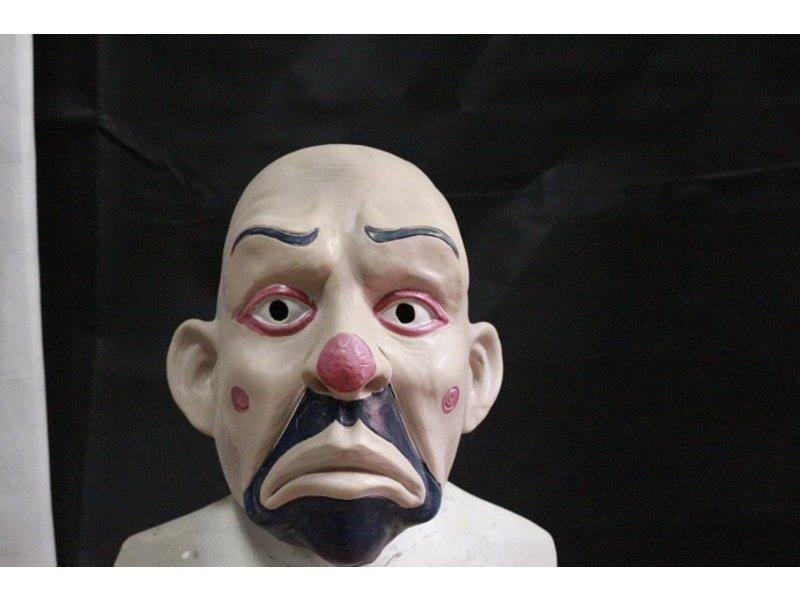 Clown masker bankovervaller (The Dark Night Rises)