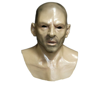 Man mask (bald head) with chest plate
