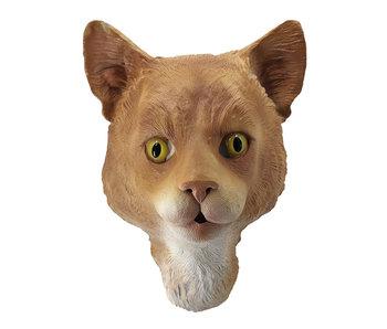 Cat mask (ginger)