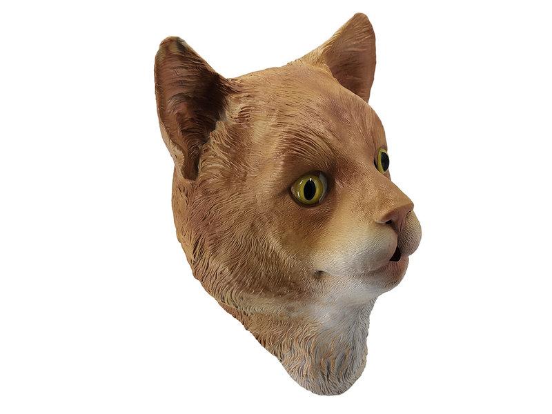 Katpoes masker (ginger/rood/bruin)