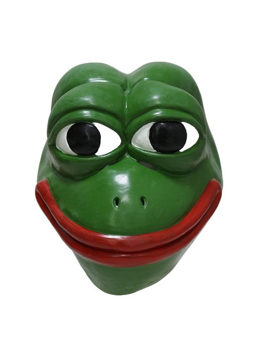 Pepe the Frog masker