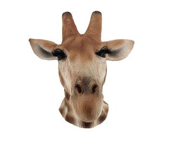 Giraffe masker Deluxe
