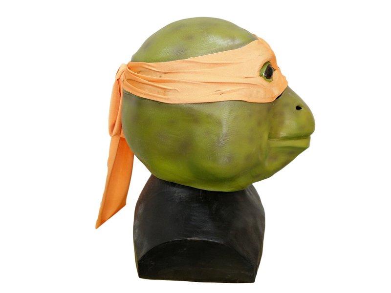 Ninja Turtle masker (oranje) 'Michelangelo'
