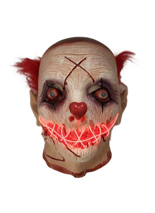 Horror Clown mask (luminous LED)