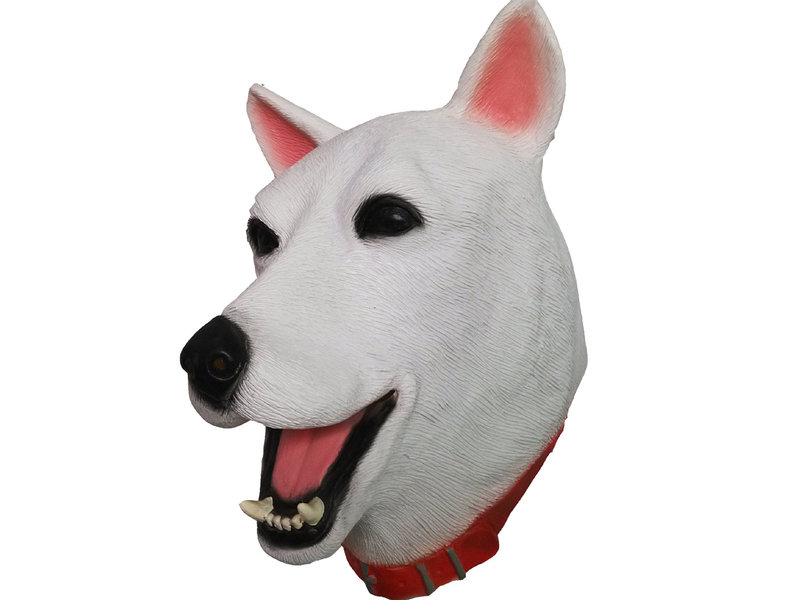 Hondenmasker (Zwitserse witte herdershond)