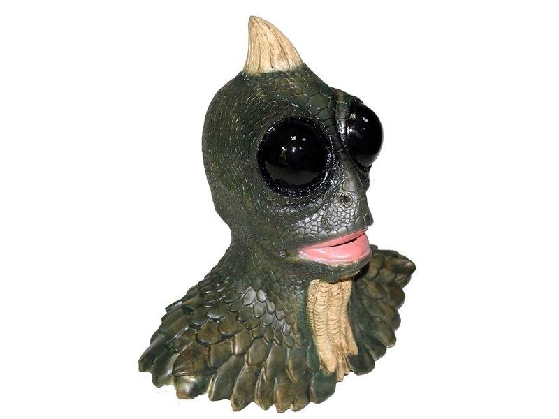 Horror Lizard masker