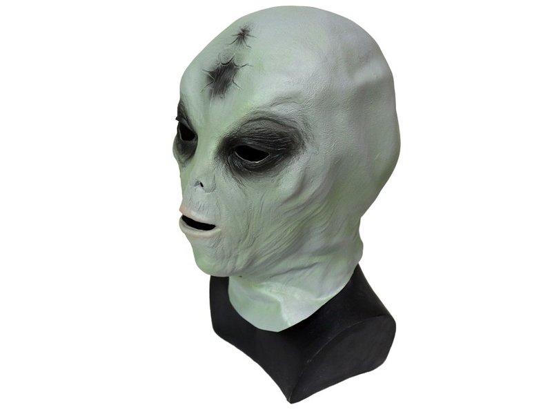 Klassiek Alien masker (groen)