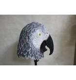 Papegaai masker (vogel) grijs