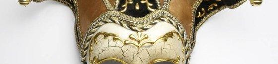 Decorative Venetian masks