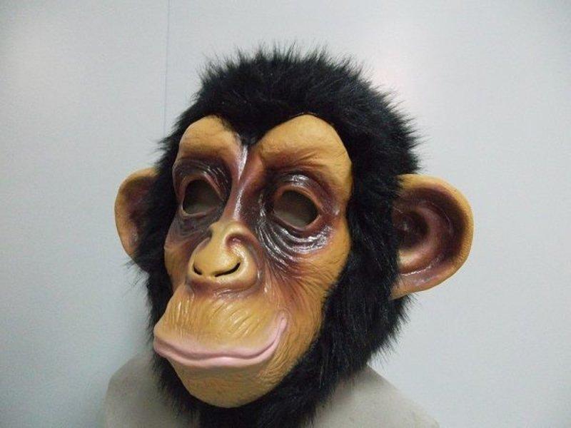 Latex Apen masker Chimpansee